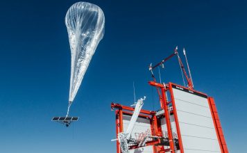 Google internet balonu